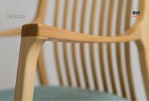 Sillón Hamaca OLSEN, diseñado para DAYER SILLAS. / Wooden rocker chair OLSEN, by DAYER SILLAS
