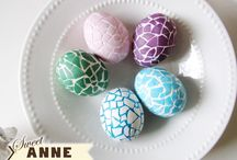 easter eggs / by C B