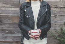 How to Style a Black Leather Jacket