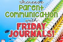 Parent Communication / A board of ideas and resources to promote parent communication