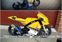 mini wood motocycle