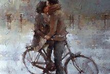 bacio in biciclettA Kohn