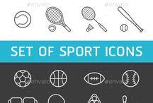 Спортивные логотипы