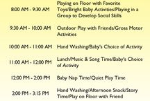 daily schedule infants