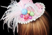 Candy Land Party Hats / Candy Land themed hats!