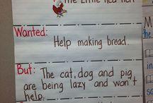 The little red hen class activities