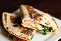 GFree Quesadilla Recipes / Cheesy, Gluten Free Goodness! Use Absolutely Gluten Free Flatbread.