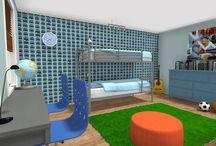 Creative Kids Bedrooms / by RoomSketcher