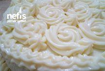 Pasta içi ve dışı için krema