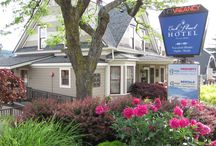 Our Beautiful Boutique Hotel / Our downtown Hood River location means everything is within easy walking distance!