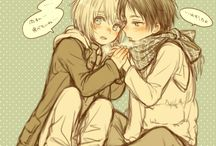 Armin x Eren / Eremin
