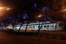 Jelang HUT ke-70 RI, Lampu Hias Percantik Jalan Utama di Jakarta / Menyambut Hari Kemerdekaan  ke-70 RI, sejumlah jalan utama dan gedung-gedung di Jakarta dipercantik dengan lampu hias. Selain itu, Dinas Perindustrian dan Energi Provinsi DKI Jakarta juga mempercantik pohon dengan balutan lampu hias yang indah. (Foto: Dinas Perindustrian dan Energi Provinsi DKI Jakarta)