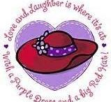 RED HAT SOCIETY / IF THE HAT FITS.....