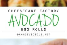 Avocado rolls cheesecake factory