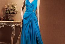 MOTHER OF BRIDE/GROOM & EVENING GOWN / Gowns for a special occasion, including MOB and MOG