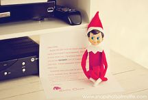 celebrate | christmas elves / Ideas for Choc-choc the Elf / by J Lynn