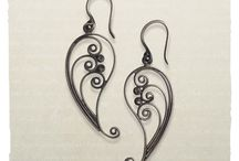 Wirewrapping Earrings / by Bob Spangler