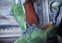 male swagger in shoes and boots