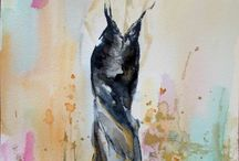 Figurative Watercolors