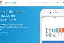 EduPills / App de microformación para docentes, enfocada a que el profesorado adquiera y/o desarrolle habilidades, destrezas y competencias digitales de una forma sencilla y rápida.