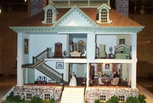 dollhouses / by Carrie @ Crafty Moms Share