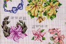 cross stitch azalia