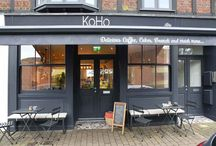 Case Study: Mumford & Wood - KoHO Coffee / Fabulous Conservation™ timber windows and doors by Mumford & Wood have been designed into the remodelling of a neighbourhood high street gallery which is now the successful, independently owned KoHo Coffee.