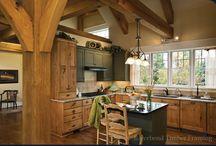 Timber framed dream home!!  / by Angela Boyd