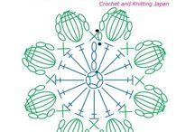 モチーフ 編み図