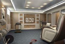 Дизайн интерьера дома в г. Энгельсе 600 кв.м / Готов авторский дизайн интерьера от студии интерьера ДизайнМастер большого дома в г. Энгельсе. Площадь дома составляет 600 кв.м. в 4ех этажах.  Дизайн интерьера дома выполнен в классическом стиле.  Шикарный, стильный, праздничный интерьер от студии ДизайнМастер воплощенный в дизайн проекте этого дома подчеркивает статус и важность своих жильцов. На 4ех этажах дома расположены: гостиная, кухня, столовая, кабинет, 5 спален, 3 санузла, комната отдыха, сауна, тренажерный зал, кинотеатр.