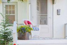 Porches & Verandas / Design and decor inspiration for inviting screened porches and verandas.