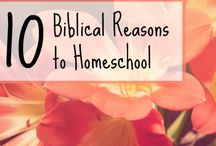 Biblical Homeschooling / Homeschooling with a Christian worldview.