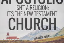 Be Apostolic / New Testament living for today