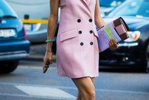 Millennial pink wardrobe