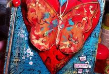 Art journal cuore / Cuore