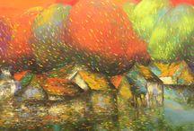 Vietnamese Art / Toriizaka Art represents artists from Vietnam and from Japan.  Each work is one of a kind.  Enjoy.