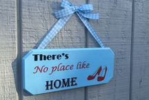Wooden Signs / Hand Painted Wooden Wall Signs