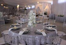 Silver & White Wedding Ideas