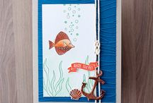 Stampin' up! - Ahoy there / Stampin' up stamp set and card design