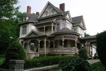 Деревянные дома США в Викторианском стиле