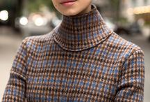 Mad for Plaid / Fashion and style board featuring plaids, tartans and check patterns.