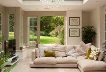 Garden room / Interior design