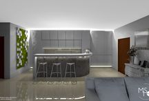 Summer residence apartment / # Navodari City #summer #white & color accents