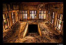 Abandoned Places / Just what it says: abandoned places from houses to asylums and beyond, abandoned images that intrigue. / by Stacy L