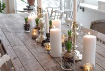 Dekoration af bordet