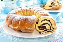 Ciasta drożdżowe i małe ciasteczka