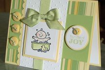 baby kaart / kaarten