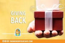 """Giving Back / because """"giving back"""" is the best reward."""