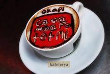 Latte art commercials