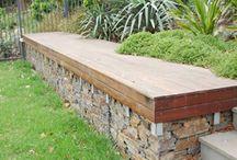 Wood border wall